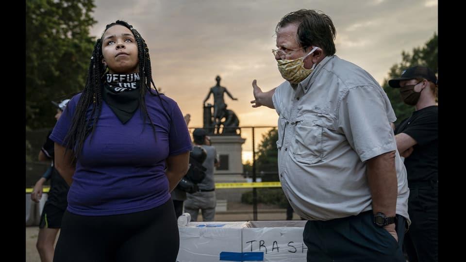 «‹Emancipation Memorial› Debatte»
