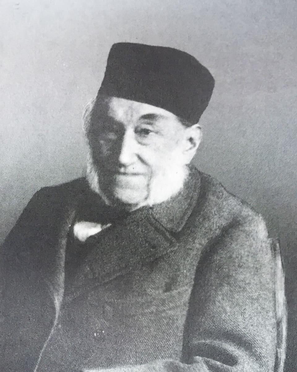 "Johann Rudolf Caviezel (1805-1900) – in dals ""Caviezels da Riga"""