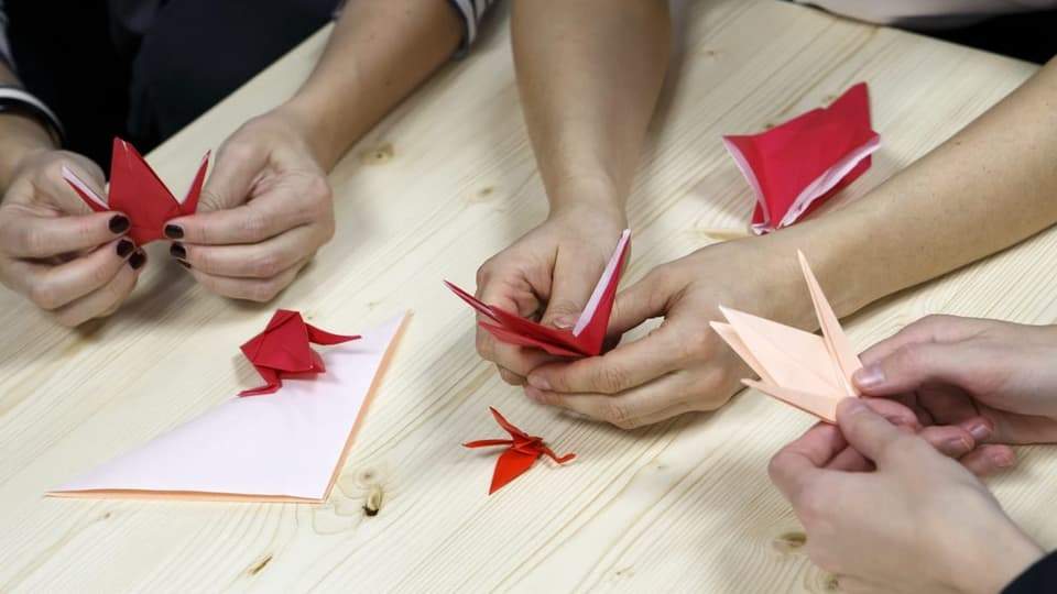 Origami – l'art dal faudar