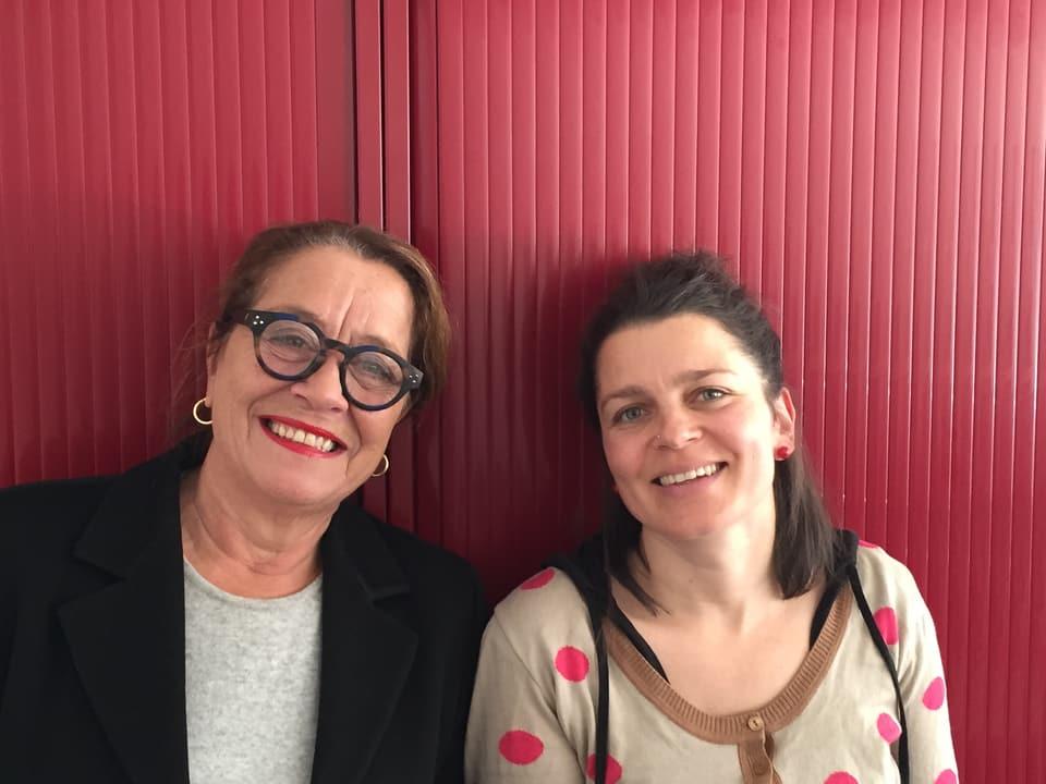 Claudia Knapp e Bettina Vital