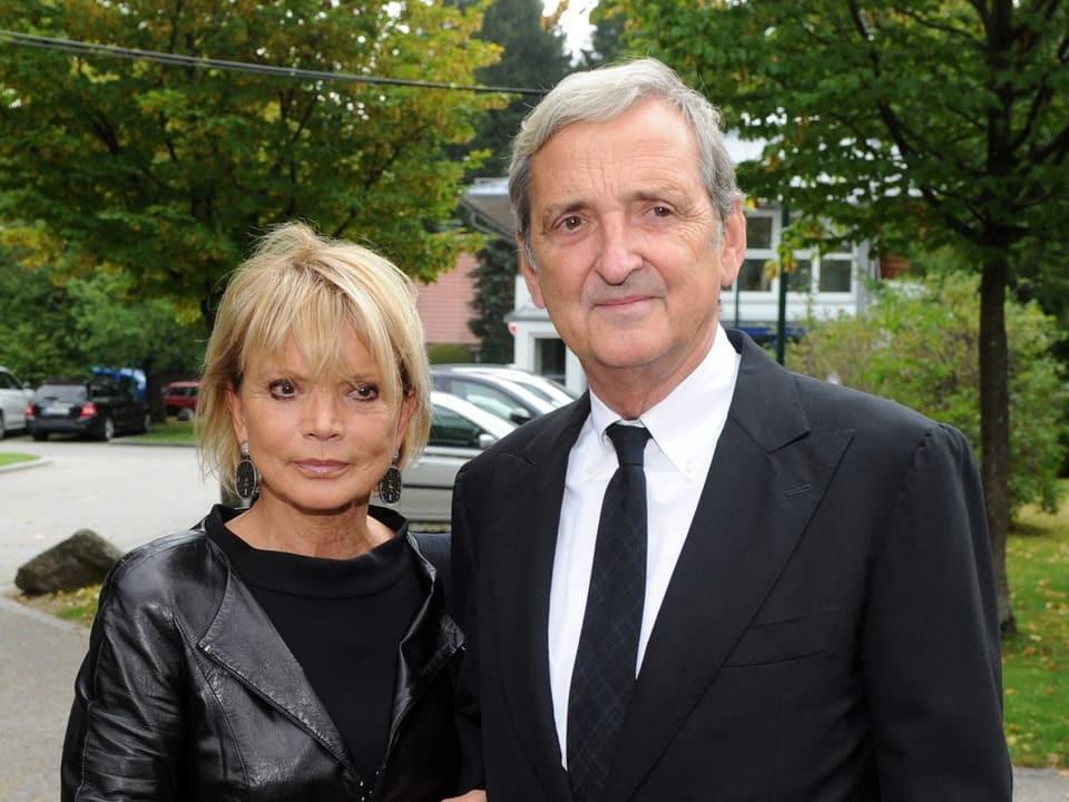 Uschi Glas und Dieter Hermann