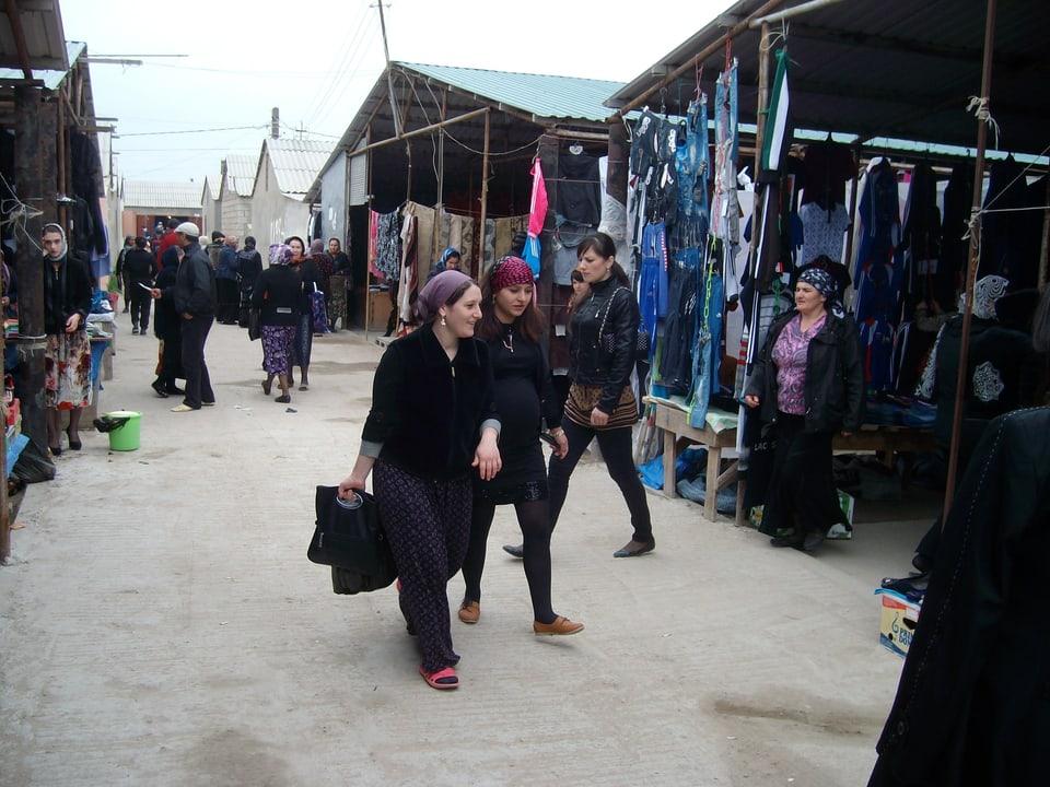 Marktszene in Dagestan