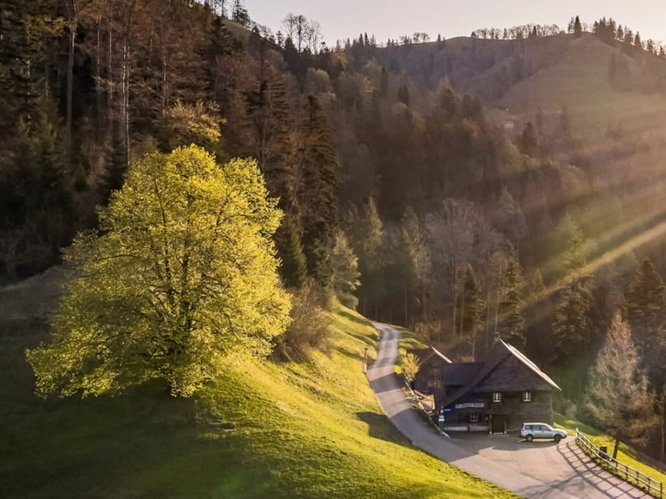 Sennhütte unter dem Schnebelhorn