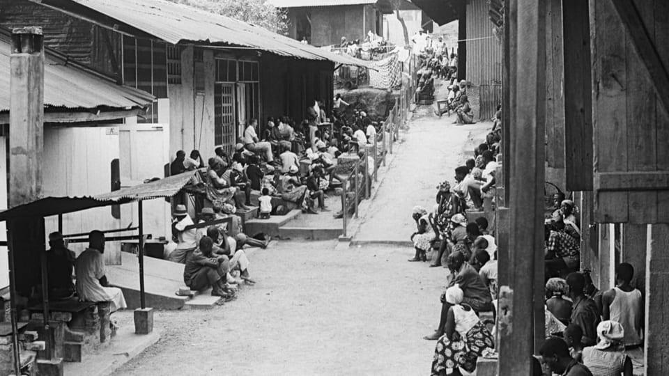 Tropenspital bei Gabun in Zentralafrika
