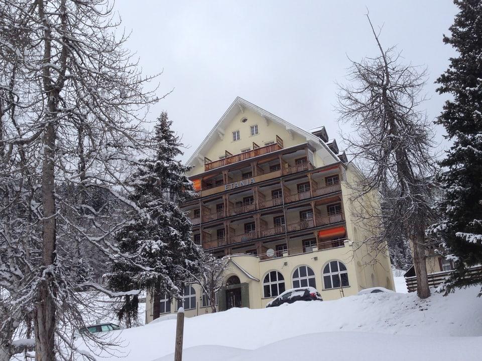Die jüdische Heilstätte Etania in Davos.