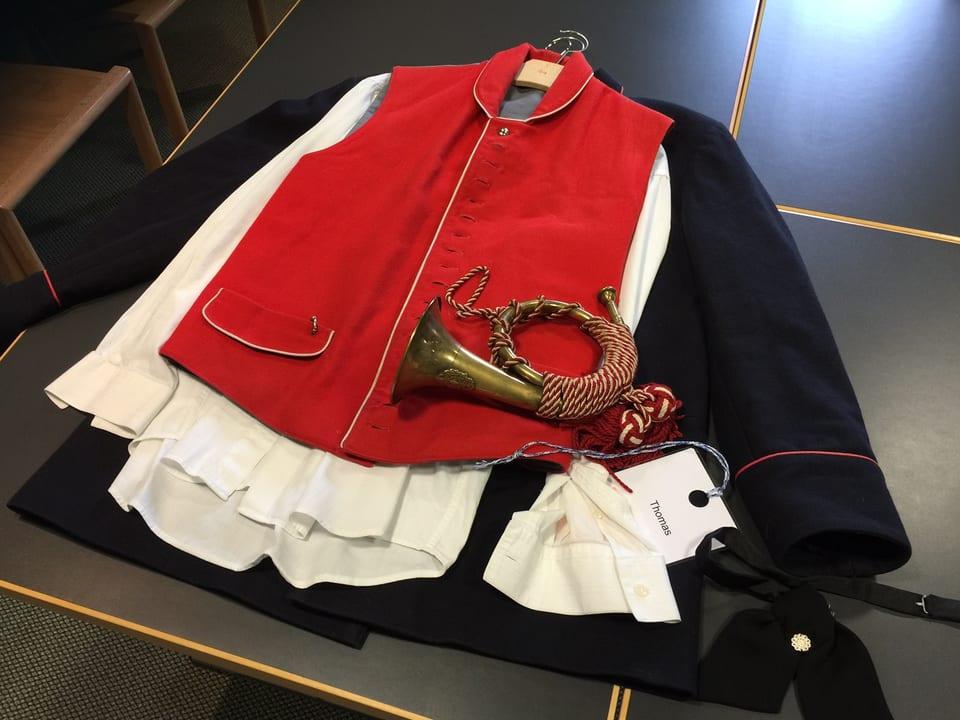 Foto der historischen Kleidung des Kutschers