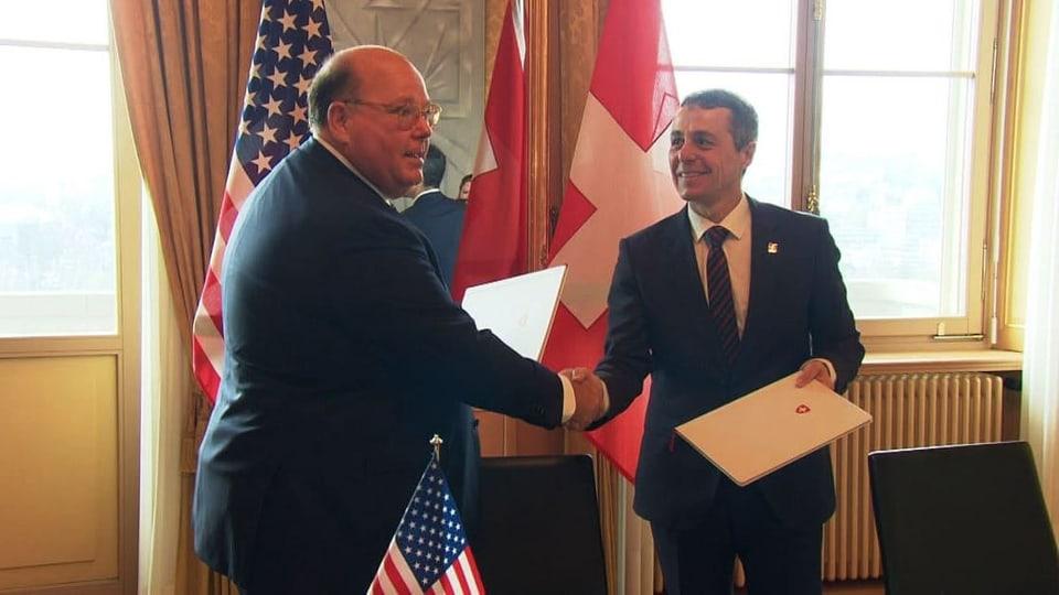 Gute Dienste – Schweiz vertritt künftig USA in Venezuela