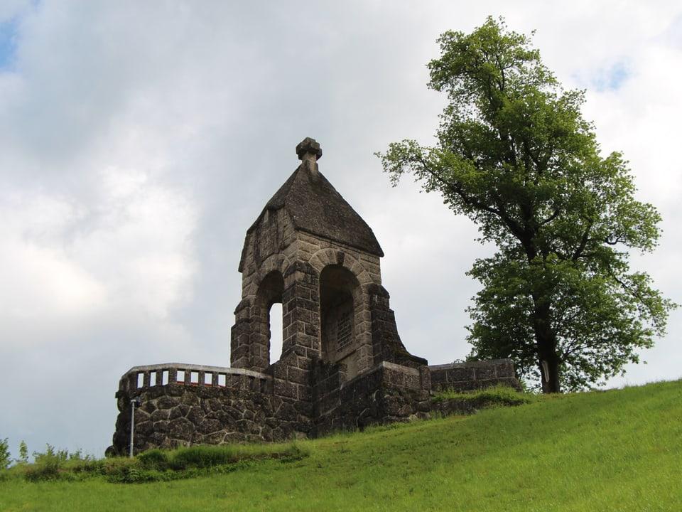 Denkmal am Morgarten.