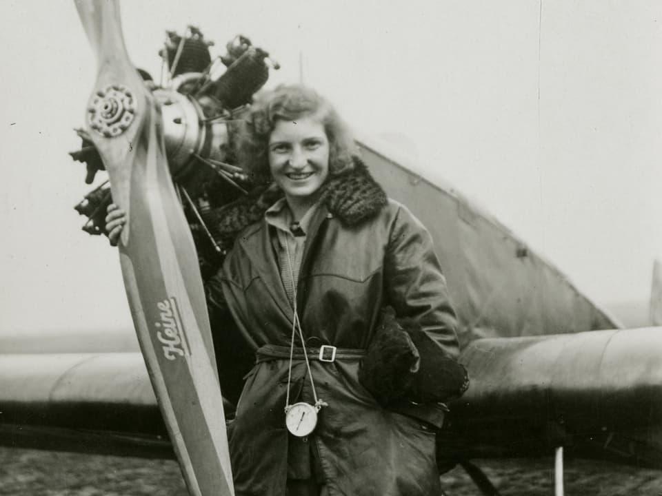 Flugpionierin Margaret Fusbahn: