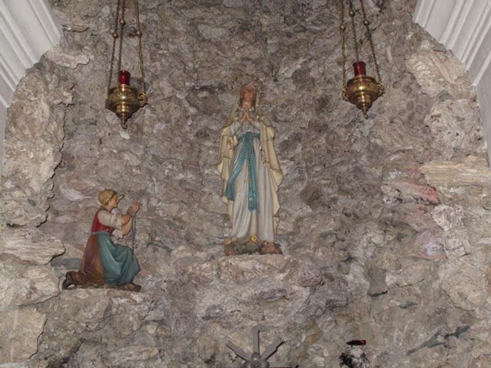 Caplutta da Nossadunna da Lourdes a Clavadi/Sumvitg.