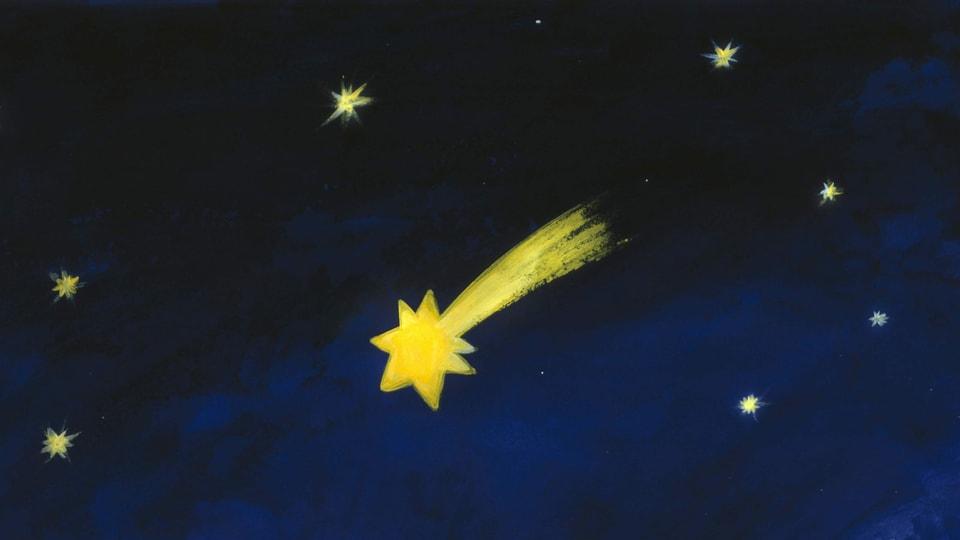 Weihnachtsstern von Bethlehem war ein Planetentanz