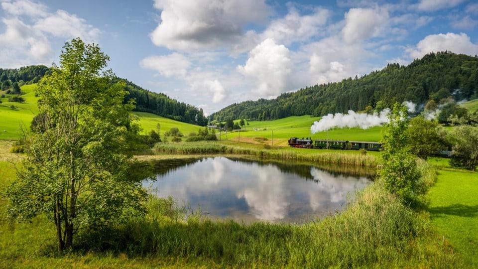 Dampfbahn im Zürioberland