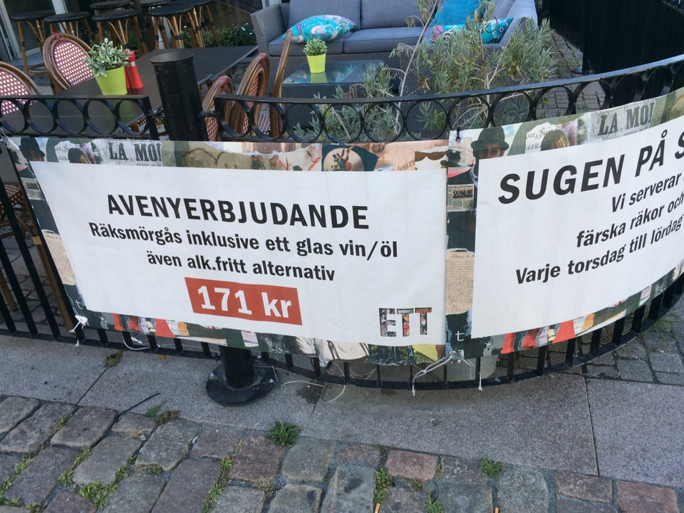 System Bolaget – il lieu per cumprar alcohol en Svezia.