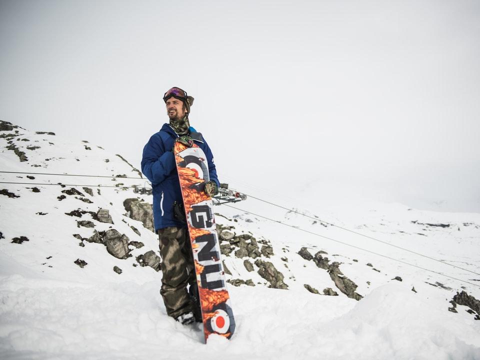 Nicolas Müller (31) ist einer der besten Snowboarder der Welt. Doch sein Name taucht auf keinen Ranglisten von Contests auf. Wir wissen auch, warum - Snowboarden, Nachhaltigkeit und Ökologie sind Nicolas' Lebenseinstellung.