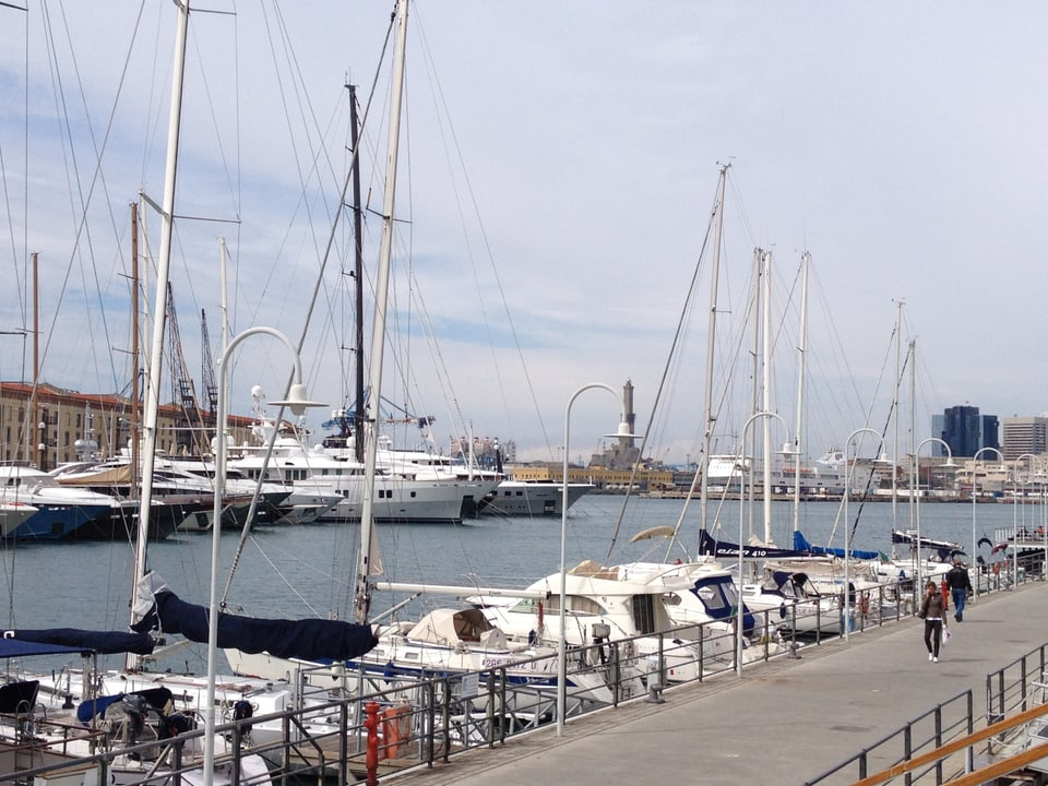 Jachts al port da Genova.
