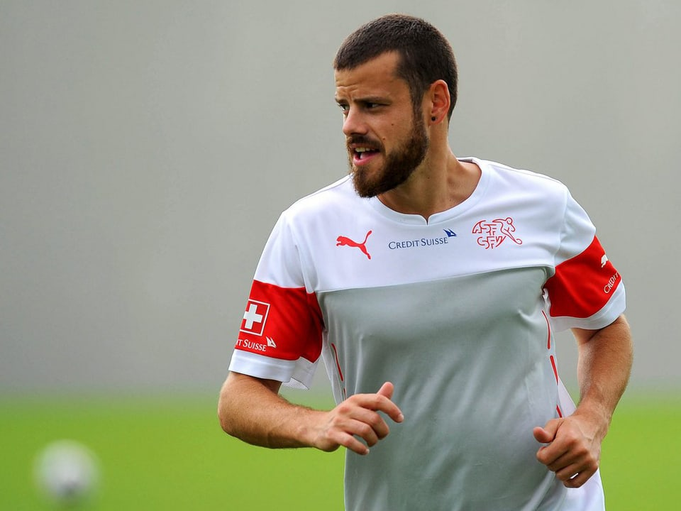 Tranquillo Barnetta beim Training.