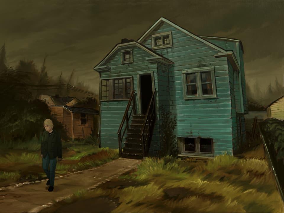 Animation aus dem Dok-Film «Montage of Heck»