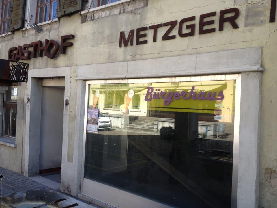 8 Jahre lang stand das Restaurant Bürgerhuas leer - trostlos.