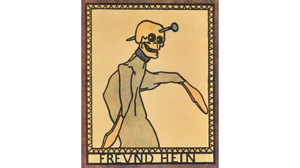 «Freund Hein» or d'in cudesch da maletgs da Kasperl 1911.