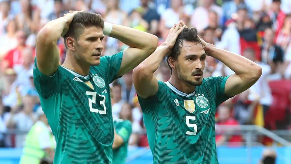 Niederlage Gegen Südkorea Blamables Deutschland Muss Nach Hause