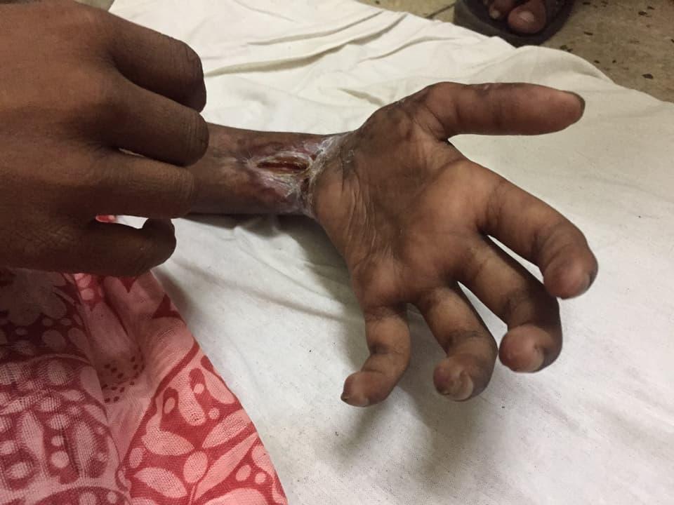 Kind in Krankenhaus