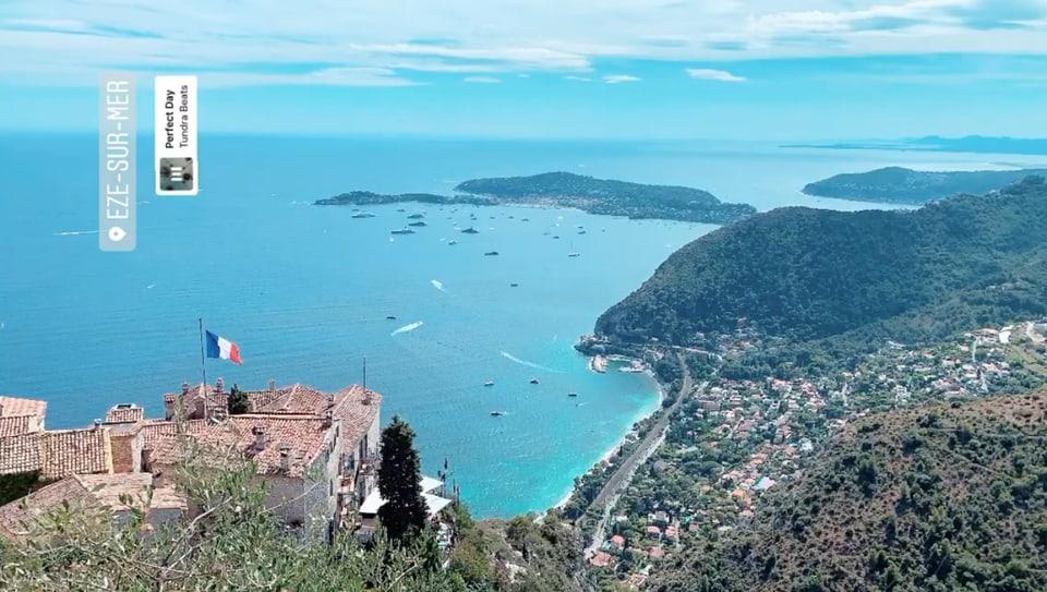 Segiurn linguistic a Nizza cun ina belezza survista