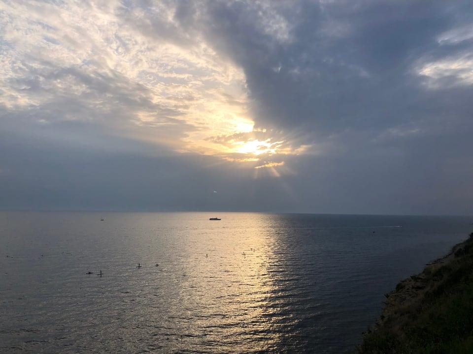 In revair cun la mar naira