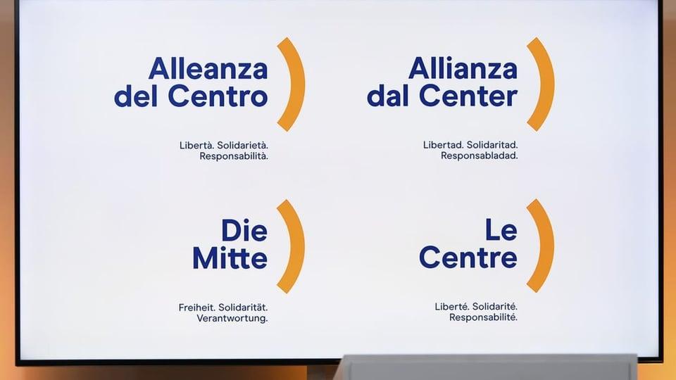 6 deputads bandunan l'Allianza dal Center