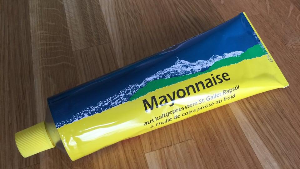 Mayonnaise aus kaltgepresstem St. Galler Rapsöl