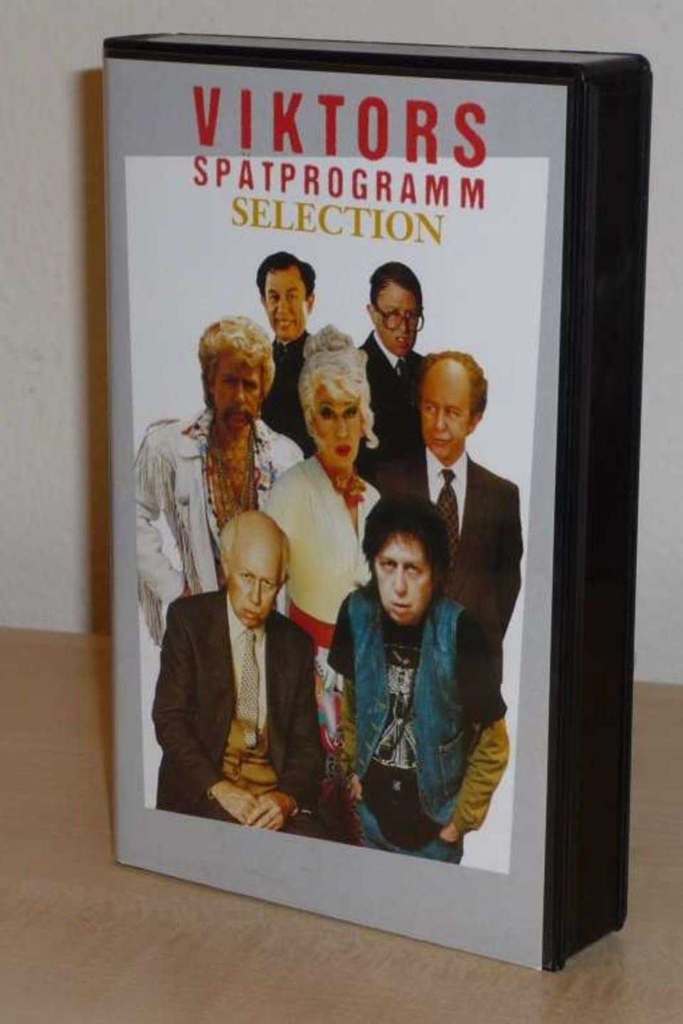Alte VHS-Kassette von Viktors Spätprogramm