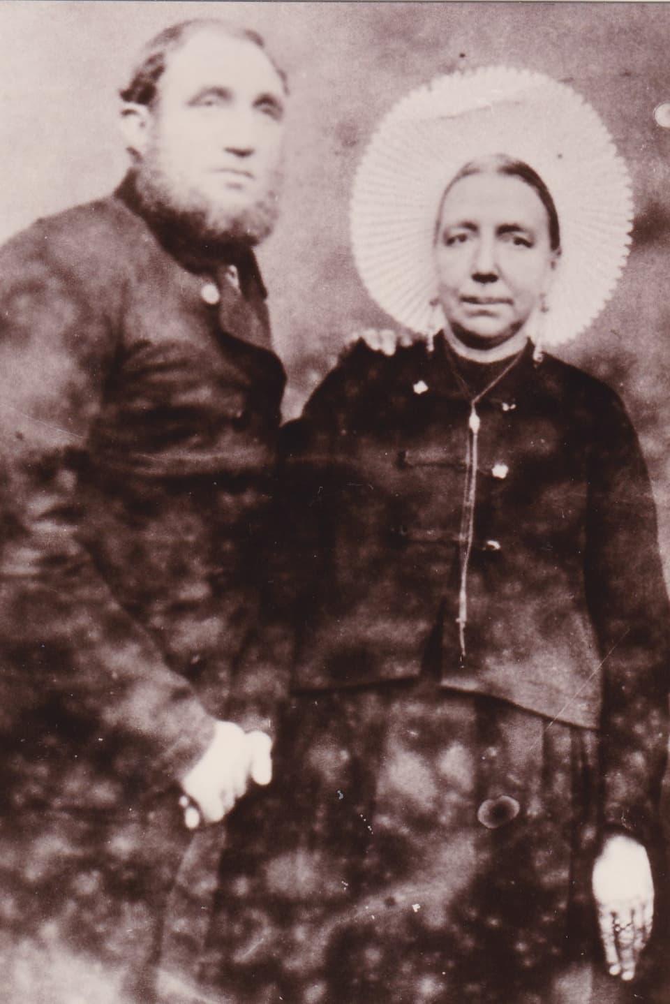 "Ils geniturs da la ""tatta franzosa"": Francois Anselm Benony e Thérèse Tirant-Caloin."