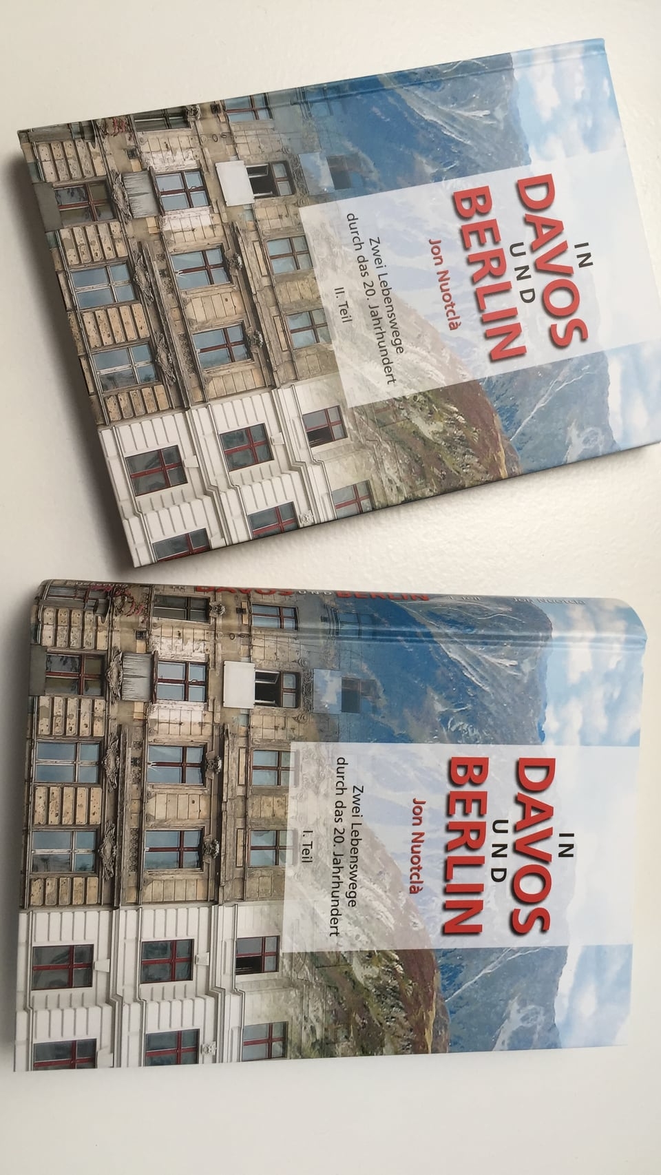 """Cover dal cudesch """"In Davos und Berlin""""."""