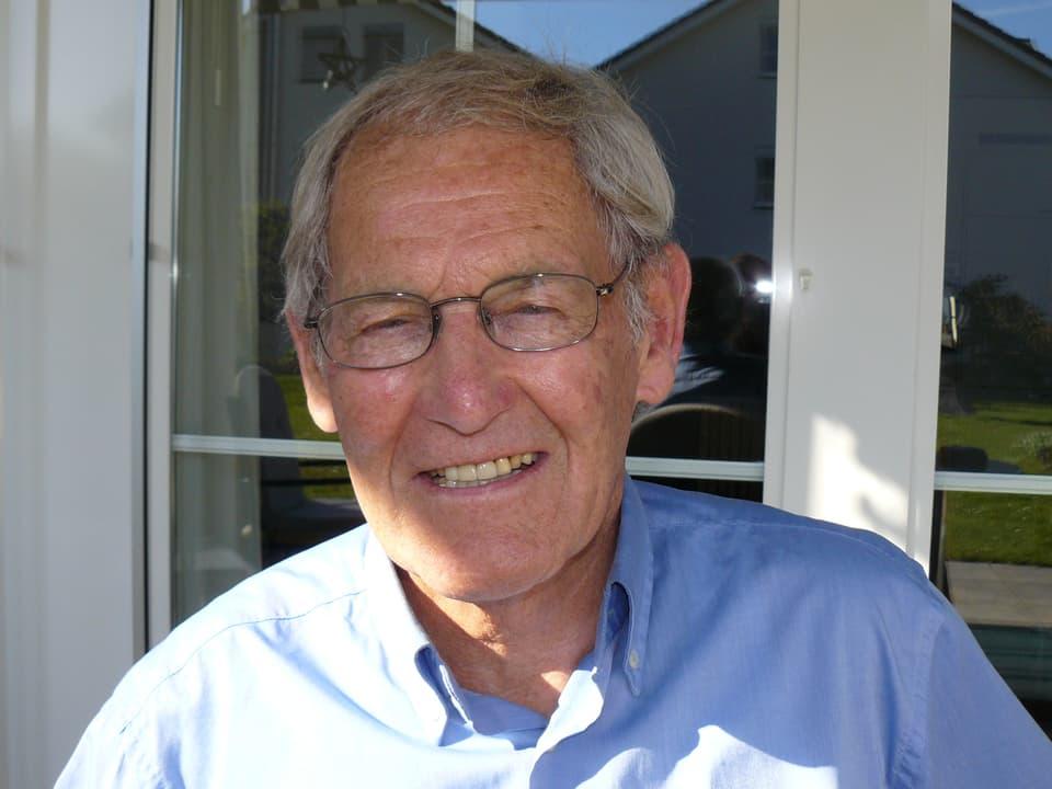 Porträt von Hans-Peter Duttle.