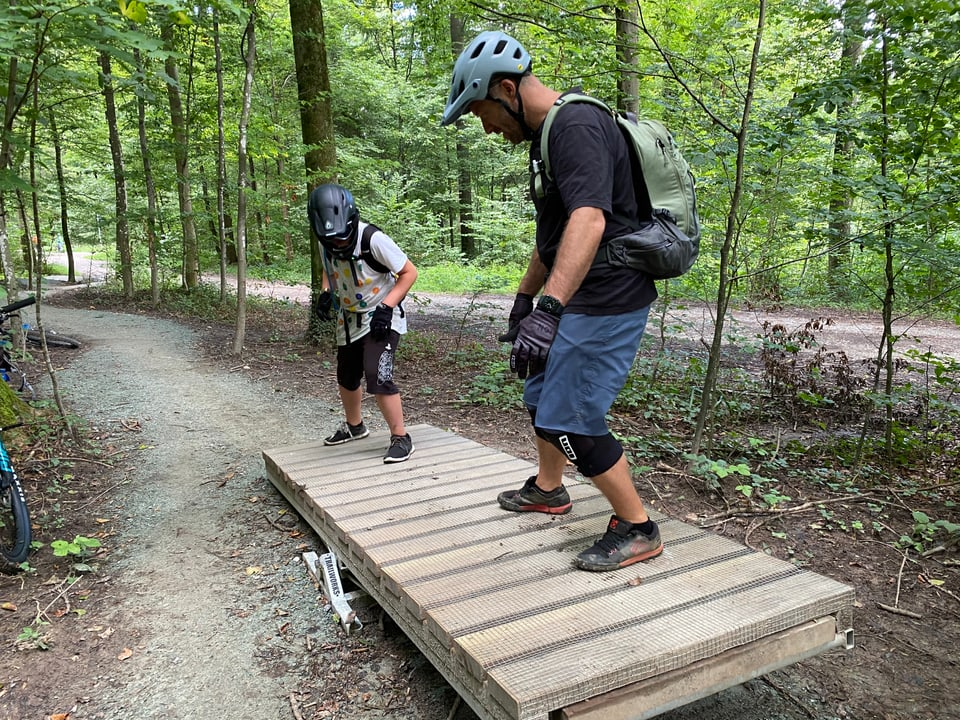 Obstacle Nummer drei: «Wippe»