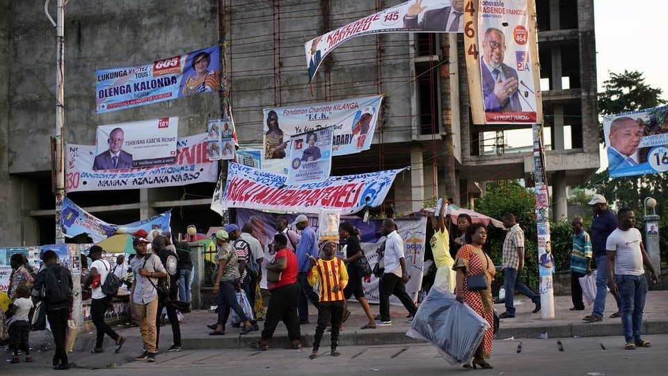 Kurz vor Präsidentenwahl – Kongo verweist EU-Botschafter des Landes