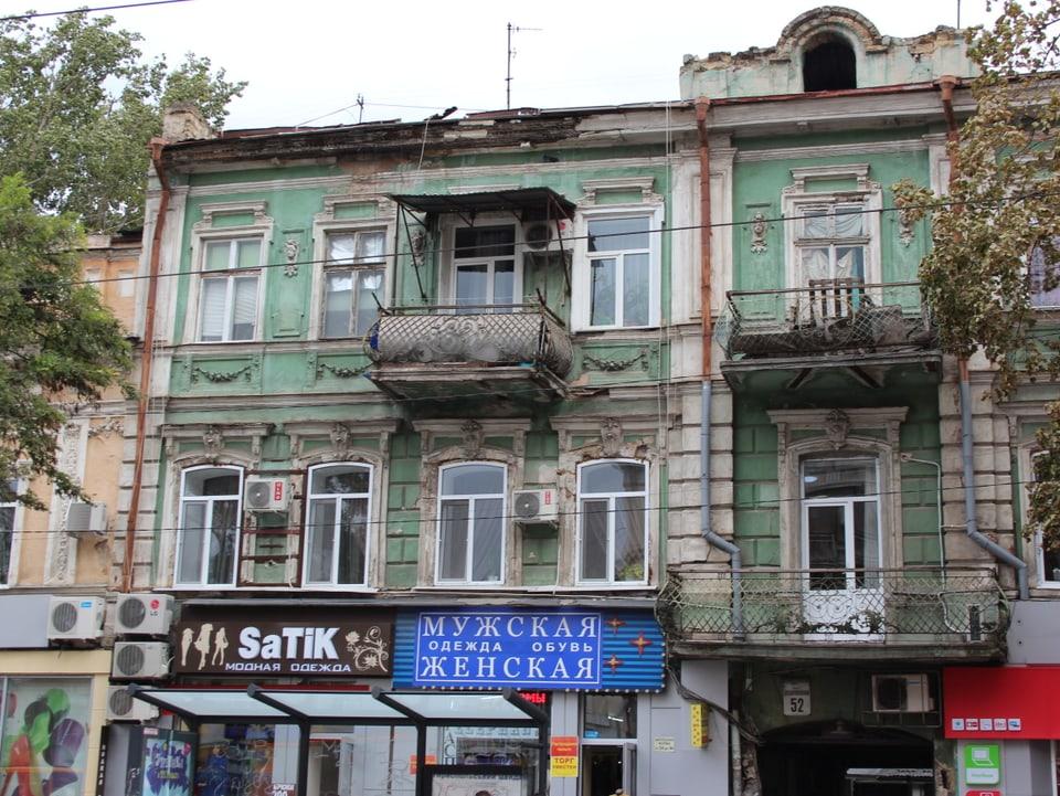 Odessa ist Kontrastreich