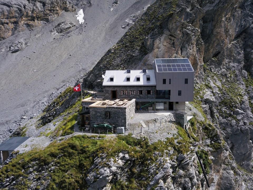 Gspaltenhornhütte.