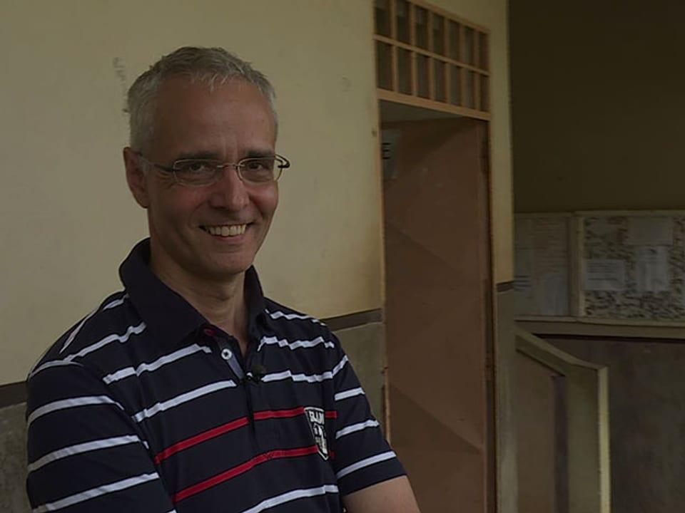 Olivier Girardin im Porträt.