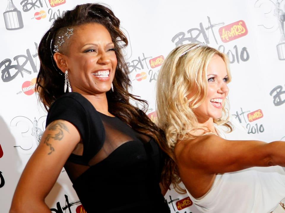 Mel B und Geri Halliwell von den Spicegirls