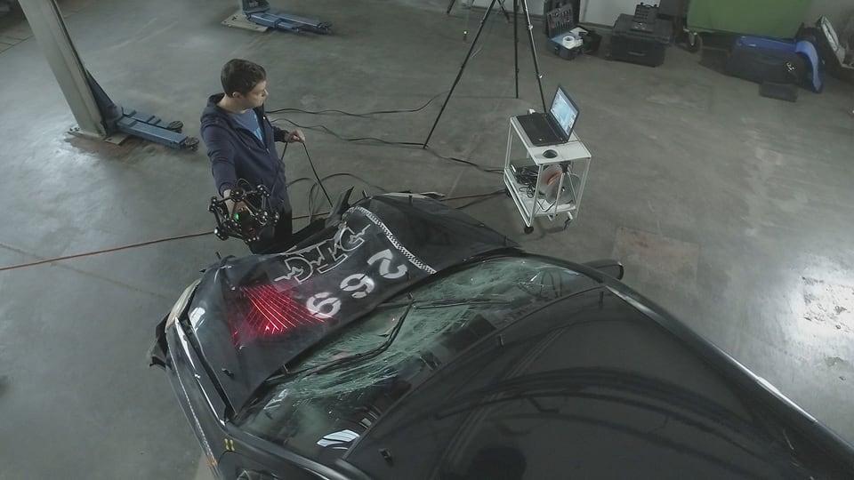 Unfallrekonstruktion mit 3-D-Technik