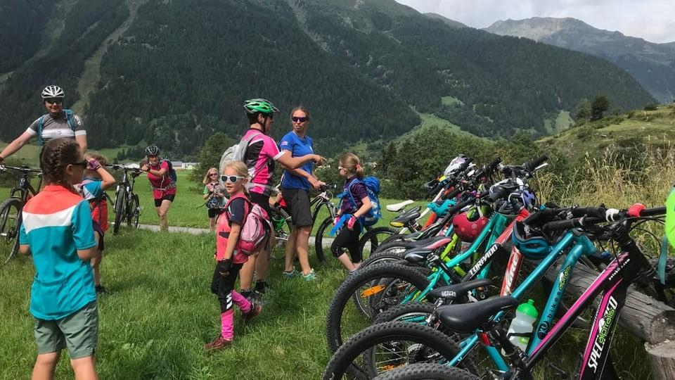 Convenziun da las Alps: Tura da velo per lung da l'En