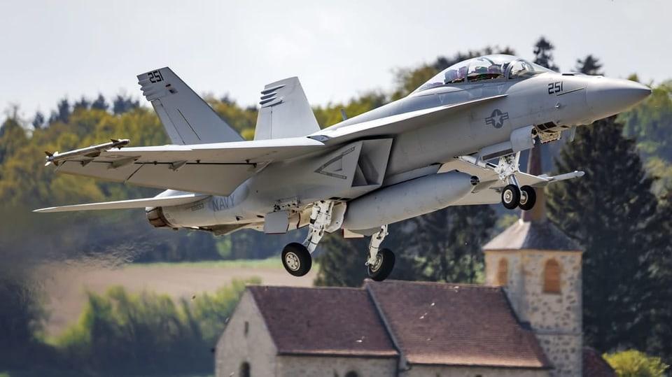 Kauf von neuen Kampfjets - US-Botschafter verspricht der Schweiz lukrative Gegengeschäfte