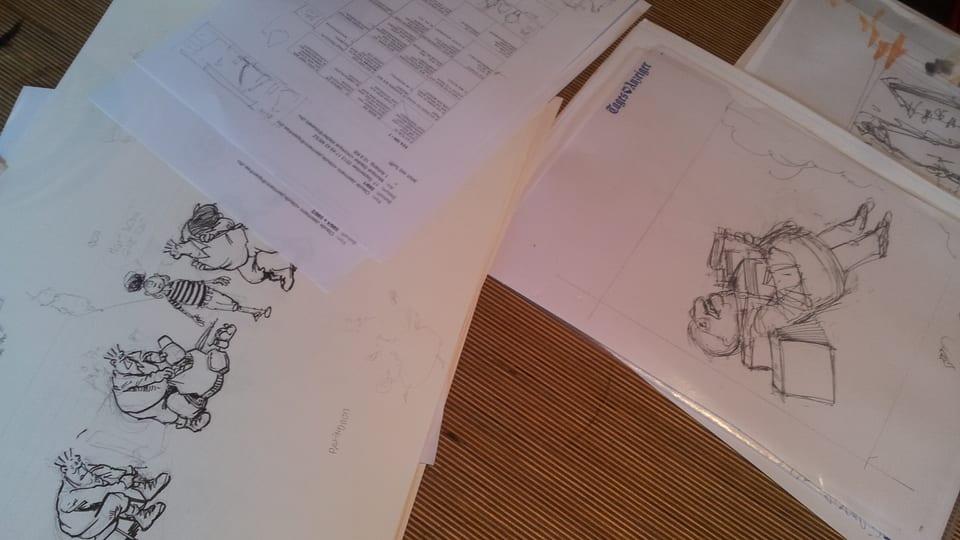 Zeichnungen von Felix Schaad