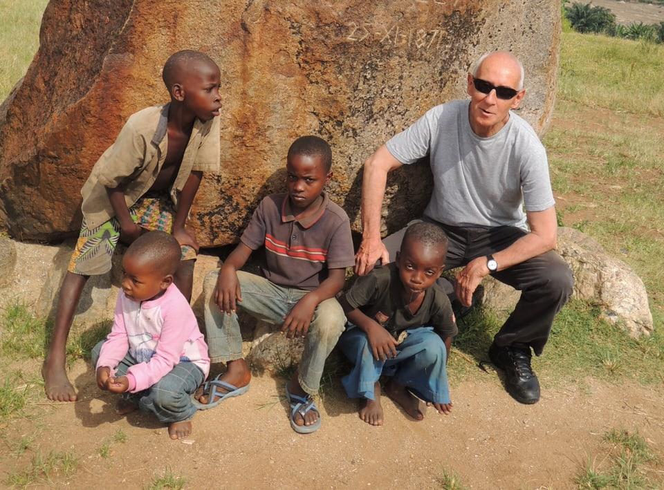 Clau Lombriser a Ruanda.