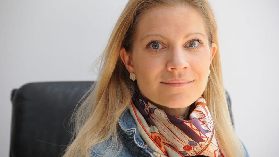 Porträt von Teresa Valerie Mandl.