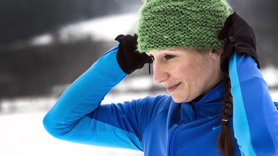 Was nützt eine Kopfbedeckung gegen Kälte?