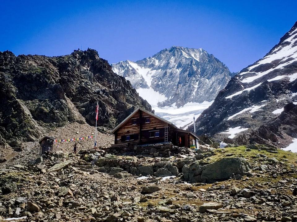 Bietschhornhütte.