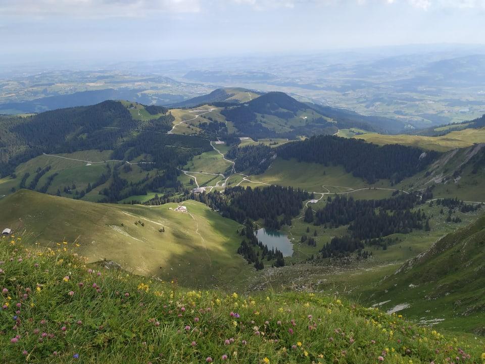 Vom Kanton Bern an den Nordrand der Freiburger Alpen: