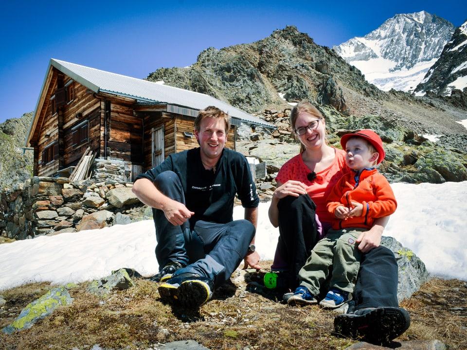 Yann, Judith und Johann.