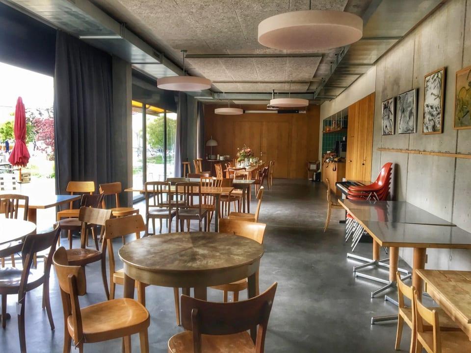 La cafetaria – il lieu ideal per organisar sentupadas u festas